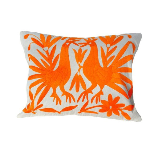 Embroided Mexican Small Cushion