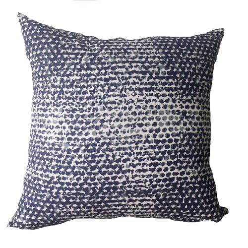 Seaspray Indigo Cushion