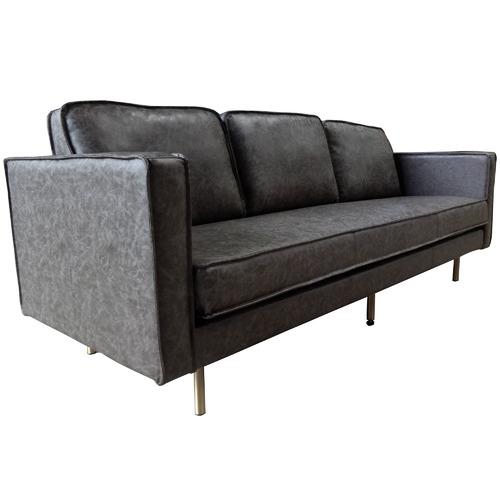 Mikasa Furniture Bondi 3 Seater Faux Leather Sofa