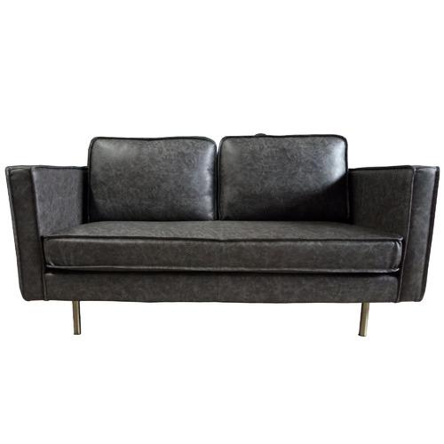 Mikasa Furniture Bondi 2 Seater Faux Leather Sofa