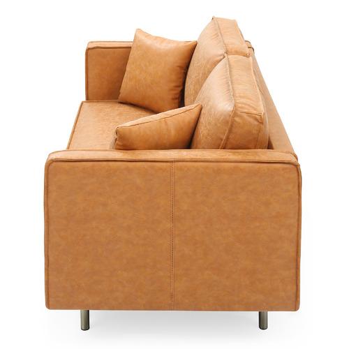 Mikasa Furniture Coogee 2 Seater Faux Leather Sofa