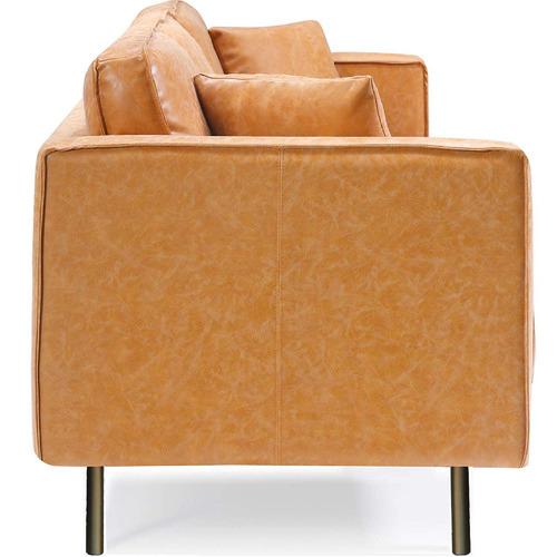 Mikasa Furniture Coogee 3 Seater Faux Leather Sofa
