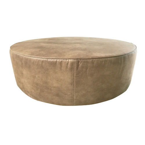 By Designs Eastwood Faux Leather Ottoman