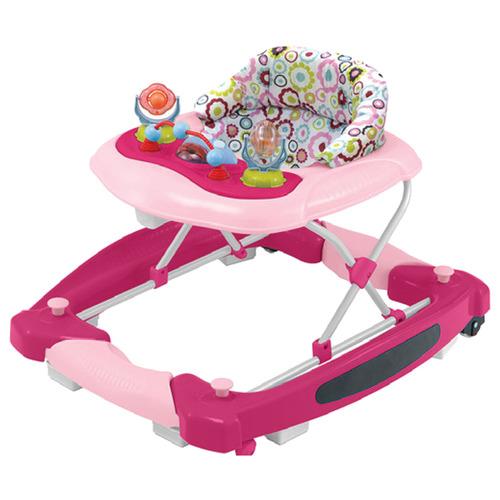 Babyhood Pink Candy Diddlee Doo 2-In-1 Walker