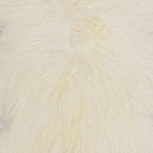 NSW Leather Long Hair Himalayan Goatskin Rug