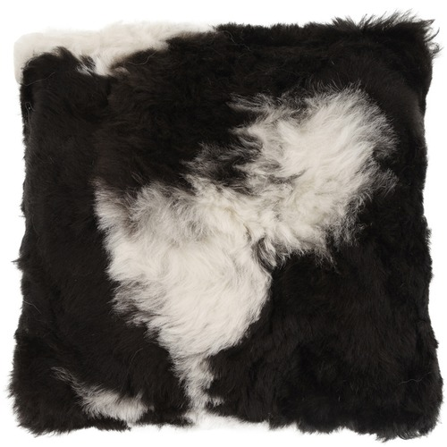 NSW Leather Shorn Spotted Icelandic Sheepskin Cushion