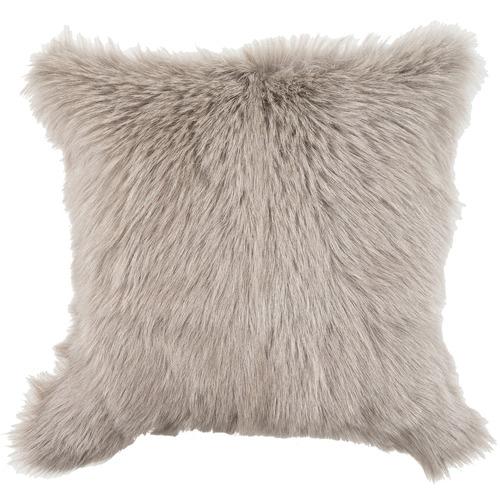 NSW Leather Extra Large Himalayan Goat Skin Cushion