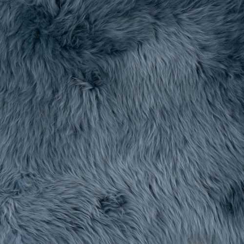 NSW Leather Ash Blue Merino Sheepskin Rug