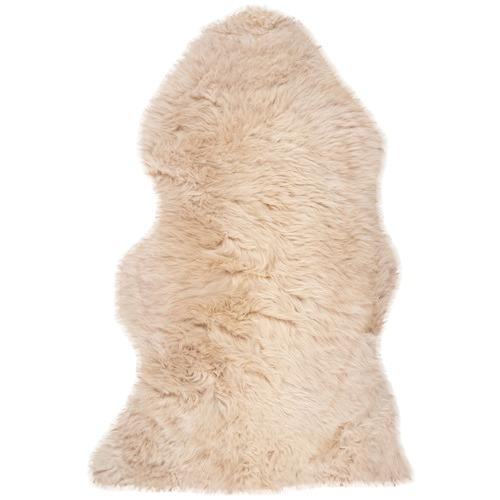 NSW Leather Fawn Merino Sheepskin Rug