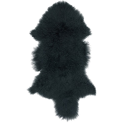 NSW Leather Moss Mongolian Sheepskin Rug
