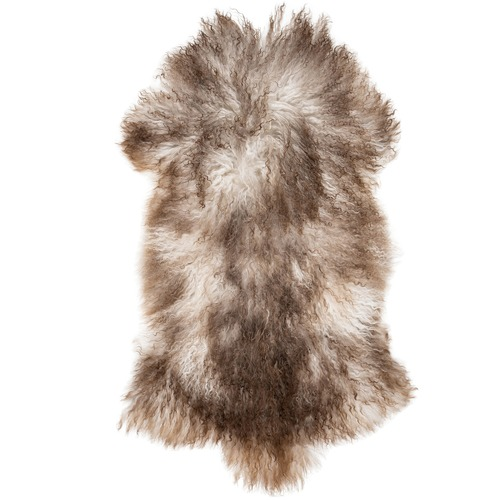 NSW Leather Natural Mongolian Sheepskin Rug