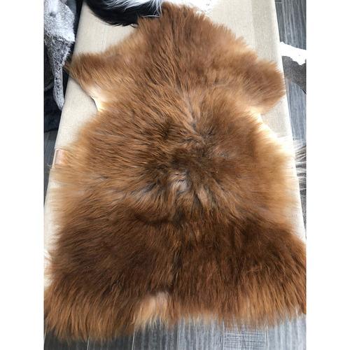 NSW Leather Highland Sheepskin Throw Rug