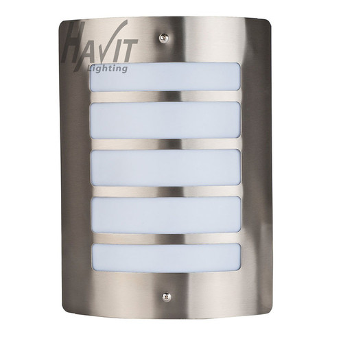 Havit Lighting Stainless Steel Marine Grade 316 Mask Wall Light Five Slots with Opal Diffuser
