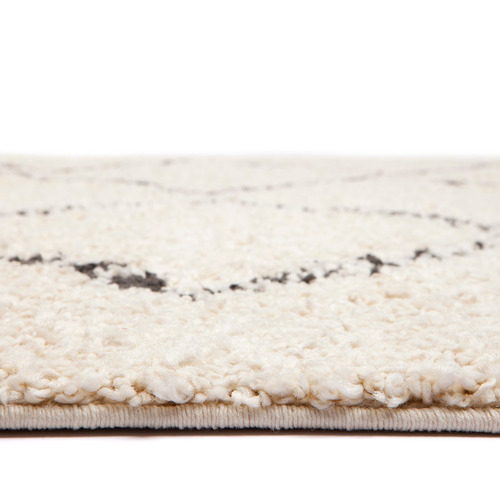 Atlas Ivory Nadia Diamond Rug