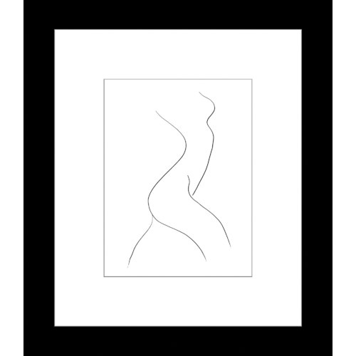 Innovate Interiors Classic Contours Reach Framed Print