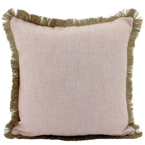 Nicholas Agency & Co Fringed Basic Square Cushion