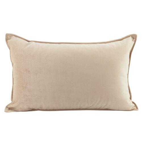 Basic Rectangular Velvet Cushion