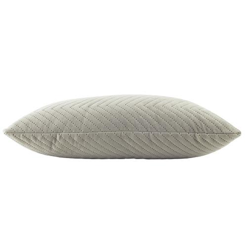 Quilted Rectangular Velvet Cushion