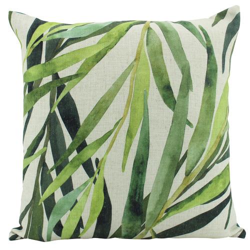 Nicholas Agency & Co Printed Leaves Square Cushion