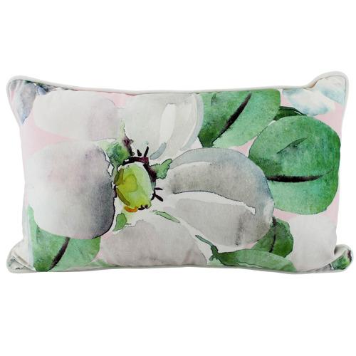 Nicholas Agency & Co Printed Magnolia Rectangular Cushion