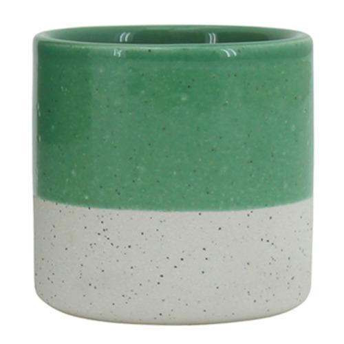 Nicholas Agency & Co Fern Sandy Ceramic Planter Pot