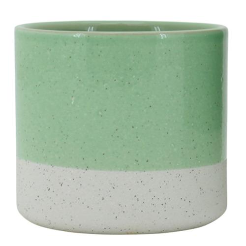 Nicholas Agency & Co Sage Sandy Ceramic Planter Pot