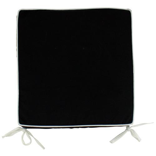Black Nicolai Outdoor Chair Pad