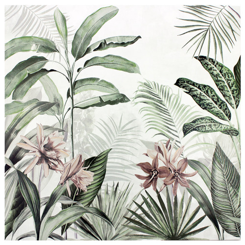 Jungle Painting Stretched Canvas Wall Art