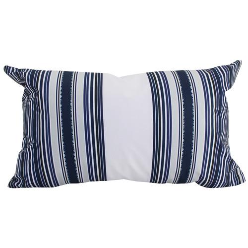 Nicholas Agency & Co Blue & White Dulus Outdoor Cushion