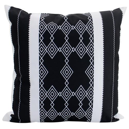 Nicholas Agency & Co Black & White Frankie Outdoor Cushion