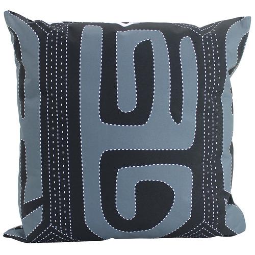 Nicholas Agency & Co Black & White Ira Outdoor Cushion