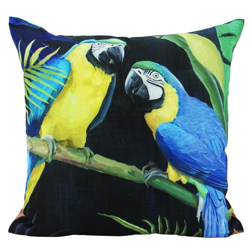 Nicholas Agency & Co Macaws Double Sided Cushion