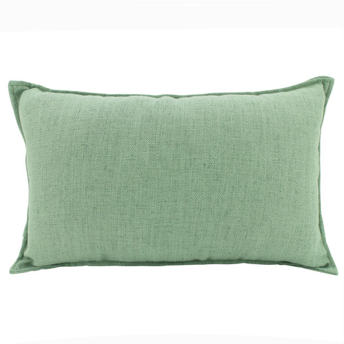 Baker Rectangular Linen-Blend Cushion