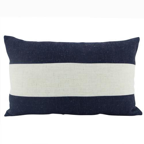 Stripe Rectangular Linen Cushion