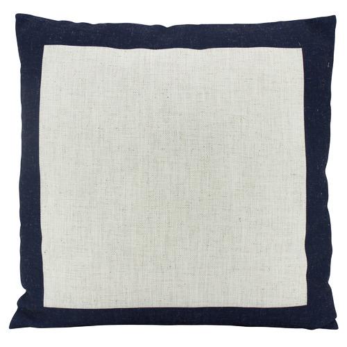 Nicholas Agency & Co Bordered Linen-Blend Cushion