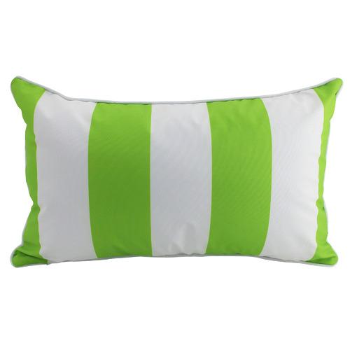 Stripe Outdoor Lumbar Cushion