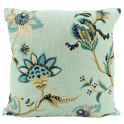 Sky Chino Line-lend Cushion