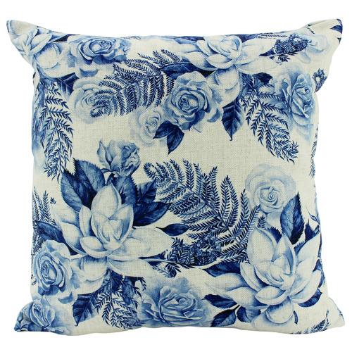 Hamptons Square Linen-Blend Cushion