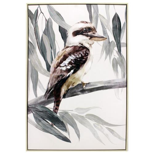 Nicholas Agency & Co Kookaburra Framed Canvas Wall Art