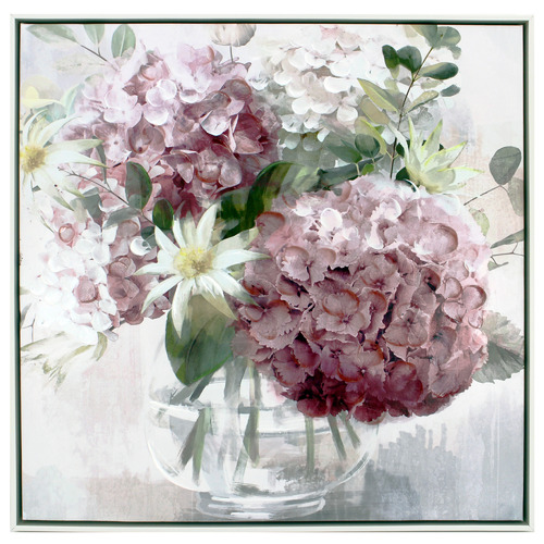 Nicholas Agency & Co Daisy Posy Framed Canvas Wall Art