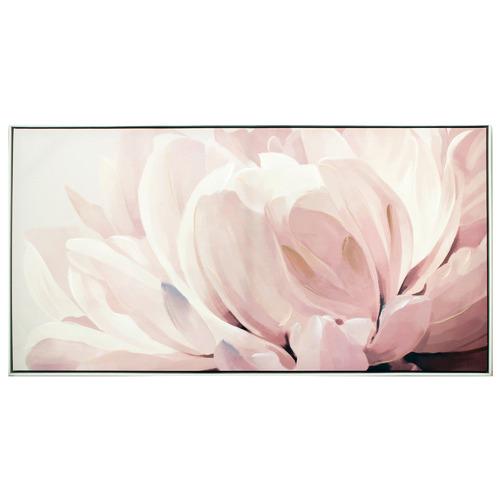 Nicholas Agency & Co Floweret Design Framed Canvas Wall Art