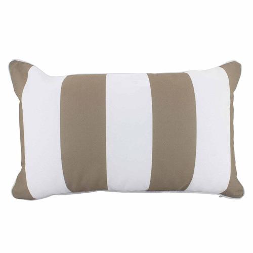 Stripe Lumbar Outdoor Cushion