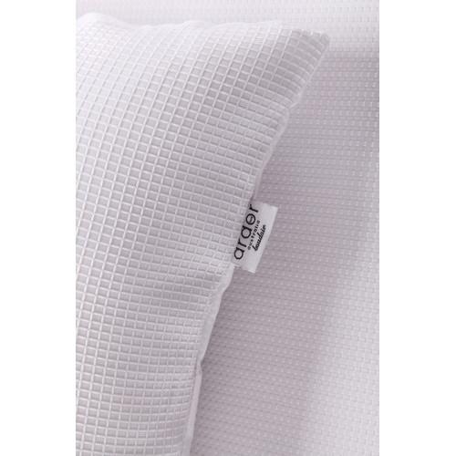 Ardor Boudoir White Waffle Quilt Cover Set