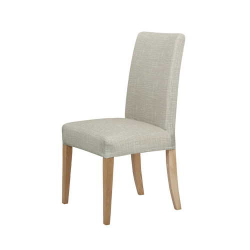 Home Innovations Sand Faux Linen Stretch Dining Room Chair  : Sand Faux Linen Stretch Dining Room Chair Cover from www.templeandwebster.com.au size 500 x 500 jpeg 20kB