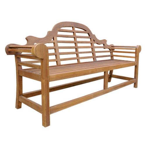 Marlboro Teak Bench Seat Temple Webster