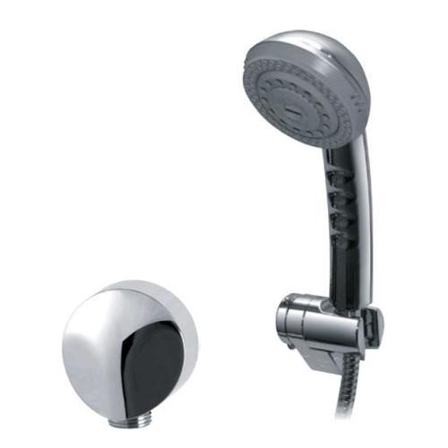 Wonderful Fountain Bathware Elegant 3 Function Shower Head On Bracket With Flexible  Hose And Elbow