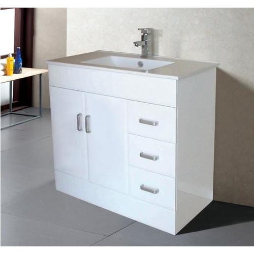 Novo b 90cm vanity temple webster for Bathroom cabinets melbourne