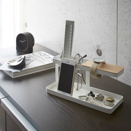 Yamazaki Metal & Wood Tower Desk Bar