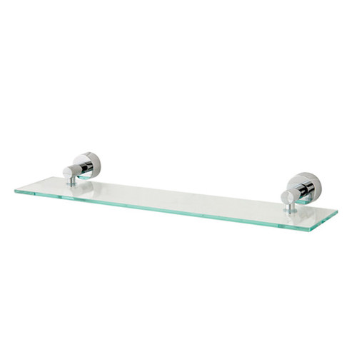 Matrix Glass Shelf in Chrome | Temple & Webster