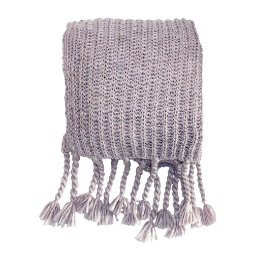 Bella Casa Salisbury Chunky Heather Throw